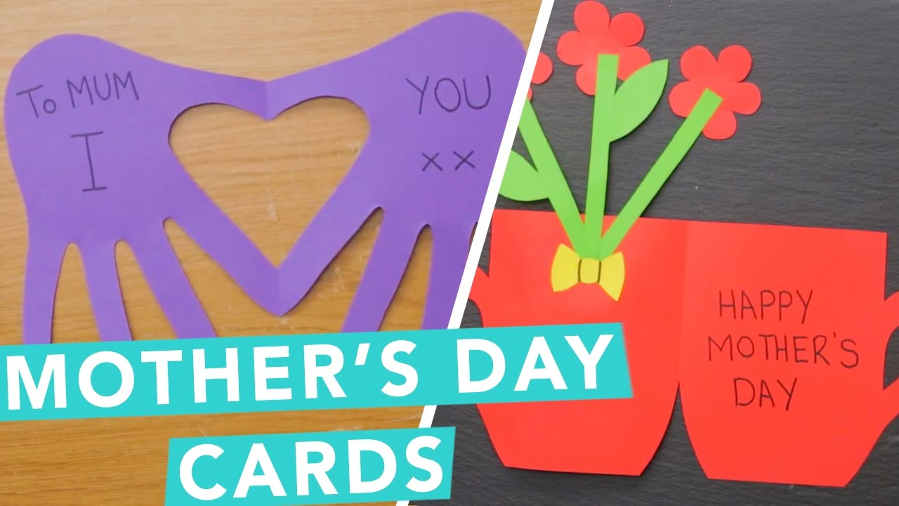 DIY Mothers Day Cards Ideas