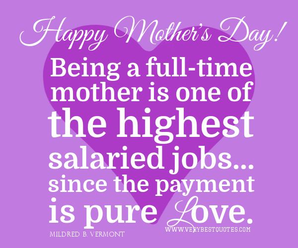 Happy Mothers Day Inspirational Quotes