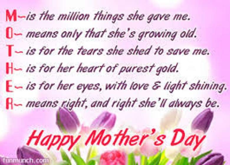 Greetings for Mothers Day 2020