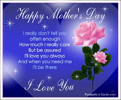 Mothers Day Greetings Poem