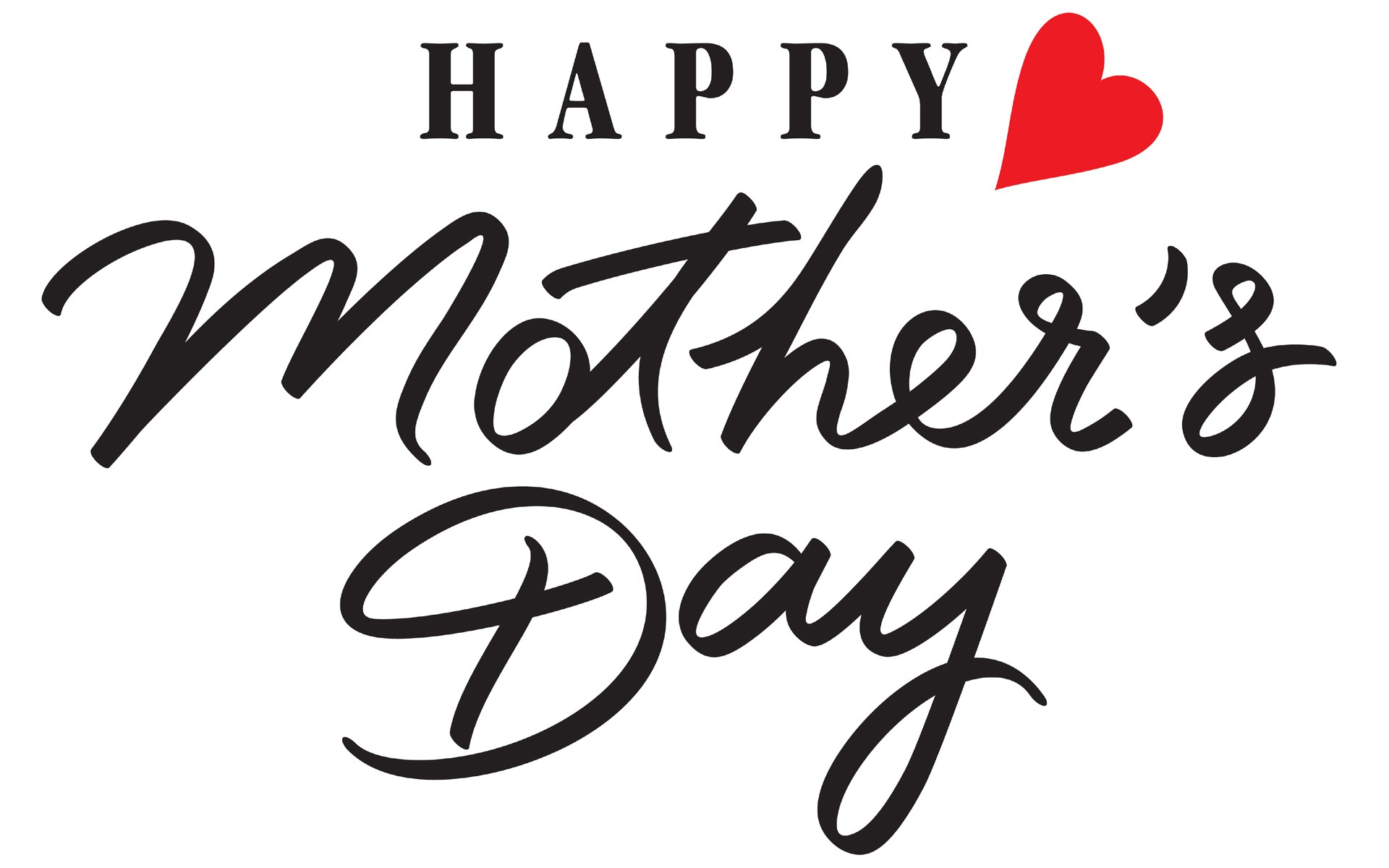 Mothers Day Images Black and White