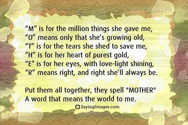 Mothers Day Images Quotes - Happy Mothers Day Images 2018: Mothers
