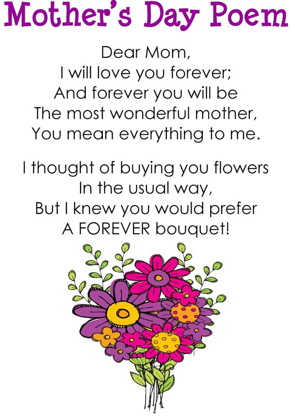 Mothers Day Poems For Son