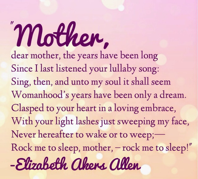 Happy Mothers Day Poems 2019 Mothers Day Poetry Poems