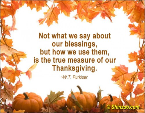 Thanksgiving Quotes Pictures