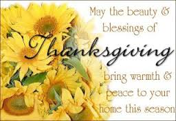 Thanksgiving Thank You Messages